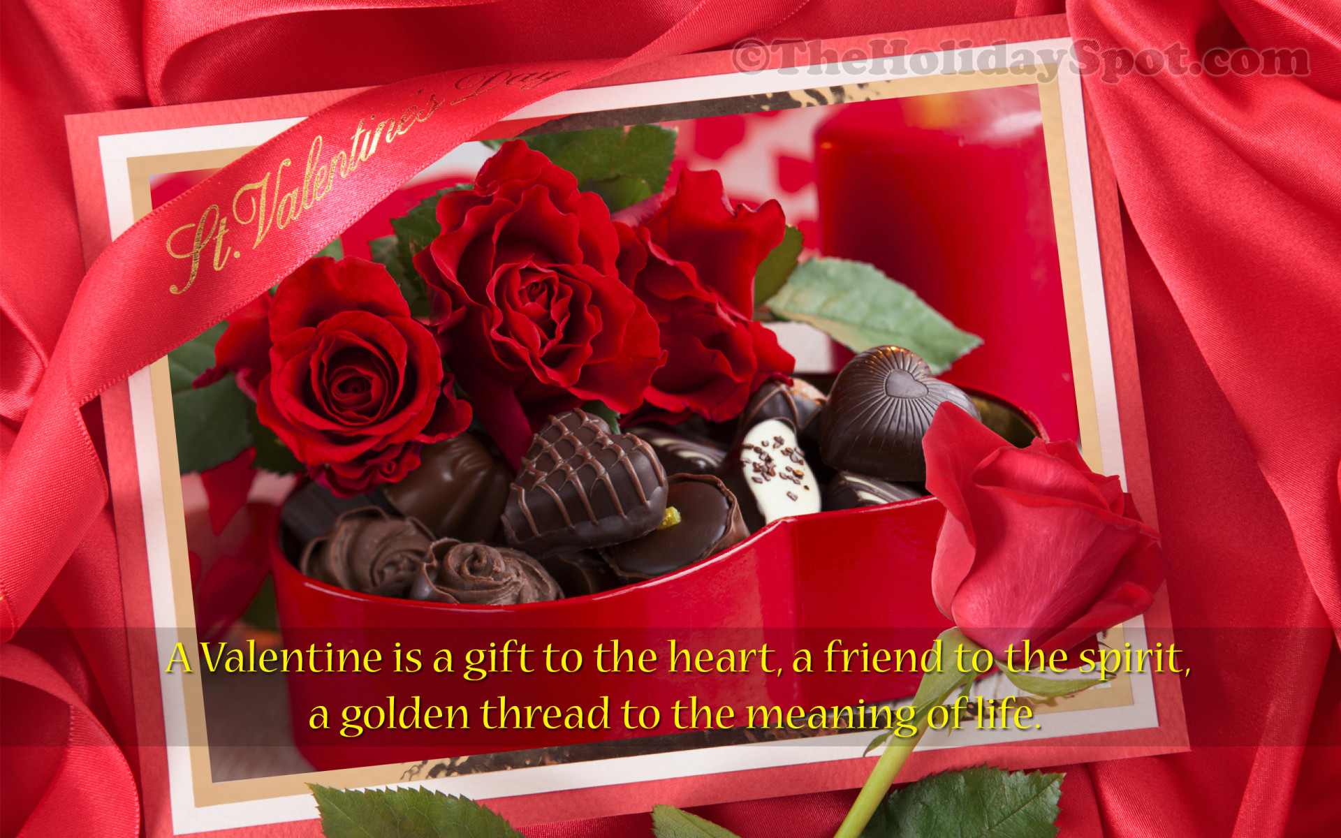 Valentine Is A Gift To Heart 1920x1200