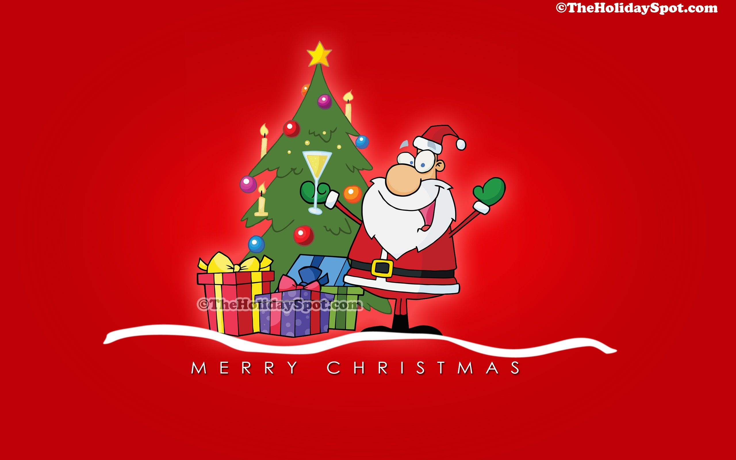 adult christmas cartoon wallpaper - photo #9