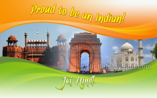 Proud to be an Indian - Wallpapers from TheHolidaySpot I Am Proud To Be An Indian Wallpapers
