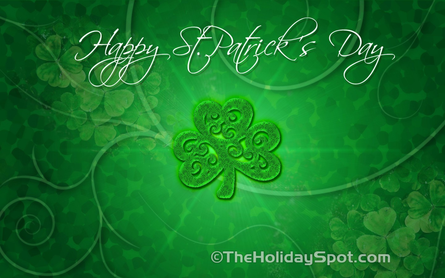 patricks day shamrock background - photo #30
