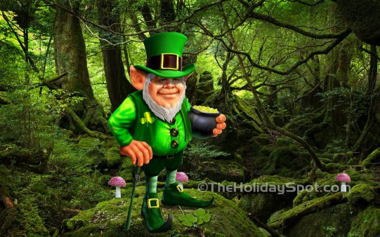 luck of irish wallpapers from theholidayspot
