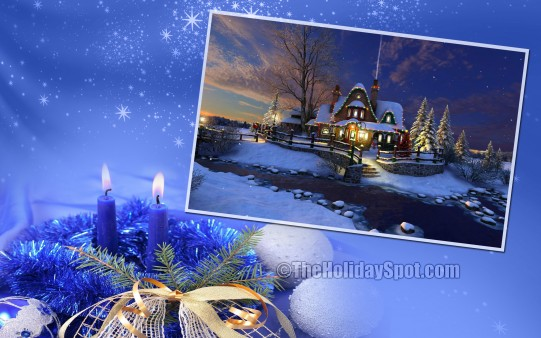 Christmas Radiance - Wallpapers From TheHolidaySpot
