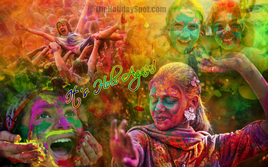Its Holi Again - Wallpapers From TheHolidaySpot