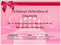 Birthday greeting cards from theholidayspot birthday invitation cards stopboris Image collections