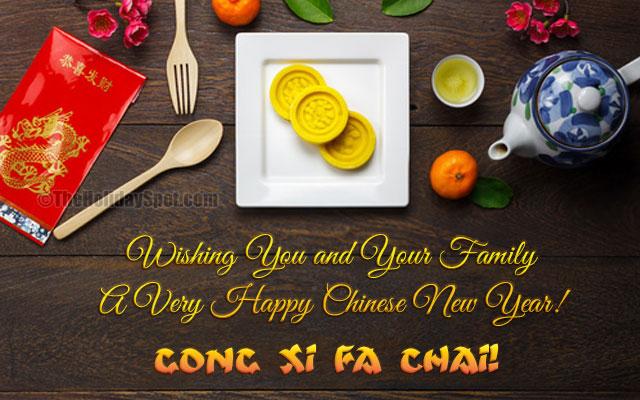 Gong Xi Fa Chai!