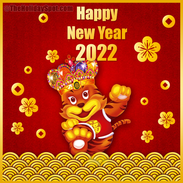 Happy New Year 2021 - Year Of The Rat