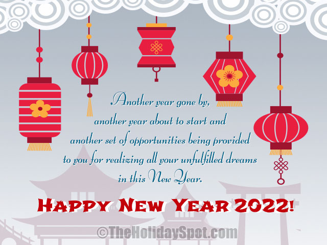 chinese new year wishes card for the year 2018