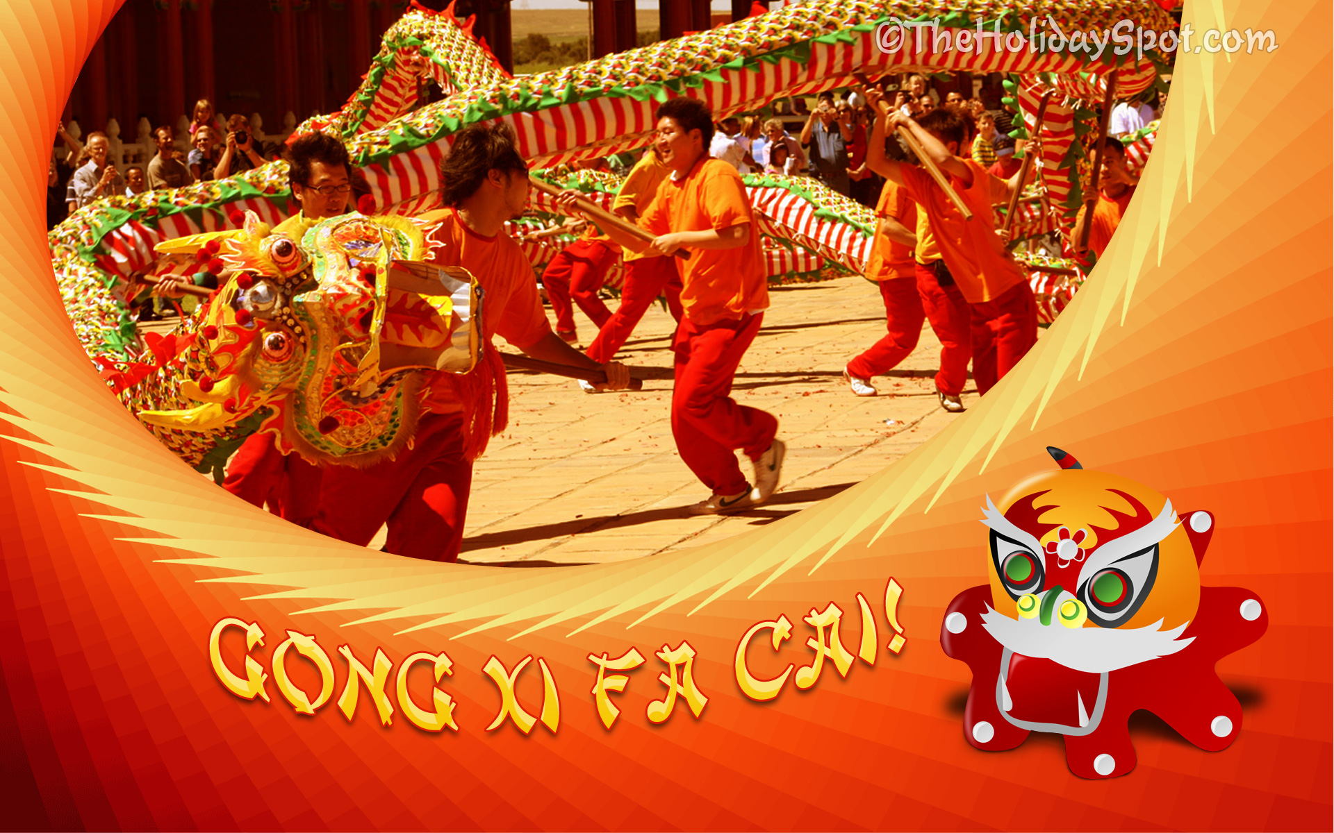 chinese new year wallpaper gong xi fa cai