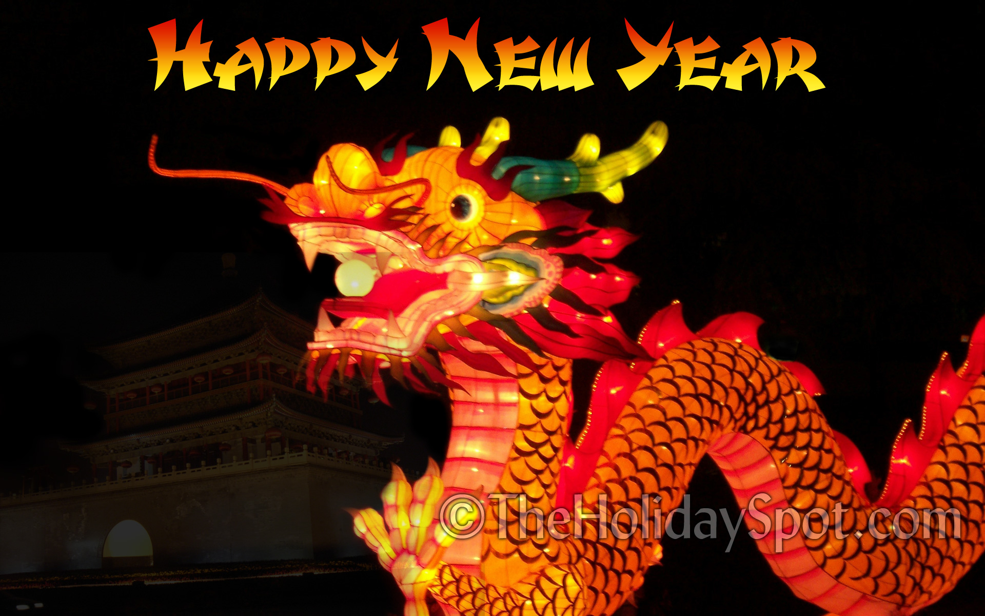 Water Dragon Wallpaper For Chinese New Year