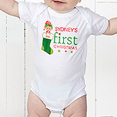 First Christmas Character Personalized Kid's Clothes