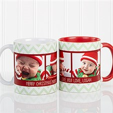 Picture Perfect Christmas Personalized Photo Coffee