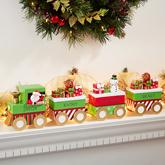 Santa's Village Personalized Mantel Figurine Collection