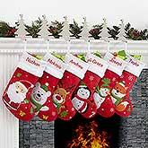 Santa Claus Lane Personalized Stocking