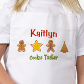 Lil' Christmas Baker Personalized Apron