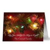 Merry & Bright Personalized Christmas Cards
