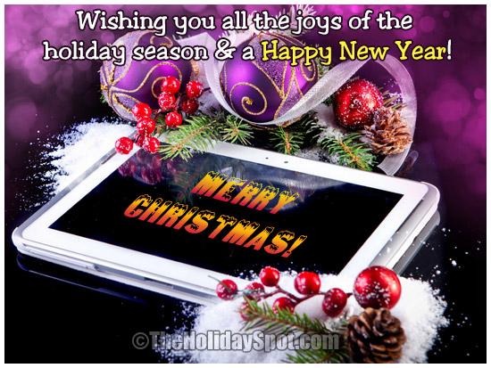 Christmas greeting cards wishes free ecards christmas wishes greeting card for the joys of the holiday season m4hsunfo
