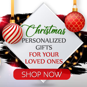 Christmas personalized gifts for your loved ones