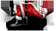 Santa Lying