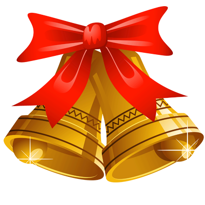 christmas symbol bells Wedding Rings Clip Art Heart Border Clip Art