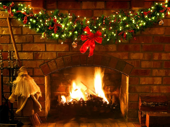 Christmas Symbol The Yule Log