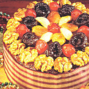 Christmas Desserts on Christmas Recipes  Jeweled Fruit Cake