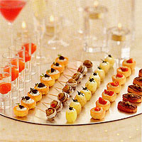 Christmas recipes starters recipes for Canape topping crossword