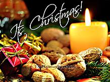 christmas party musical screensaver santa on sleigh - Free Animated Christmas Screensavers