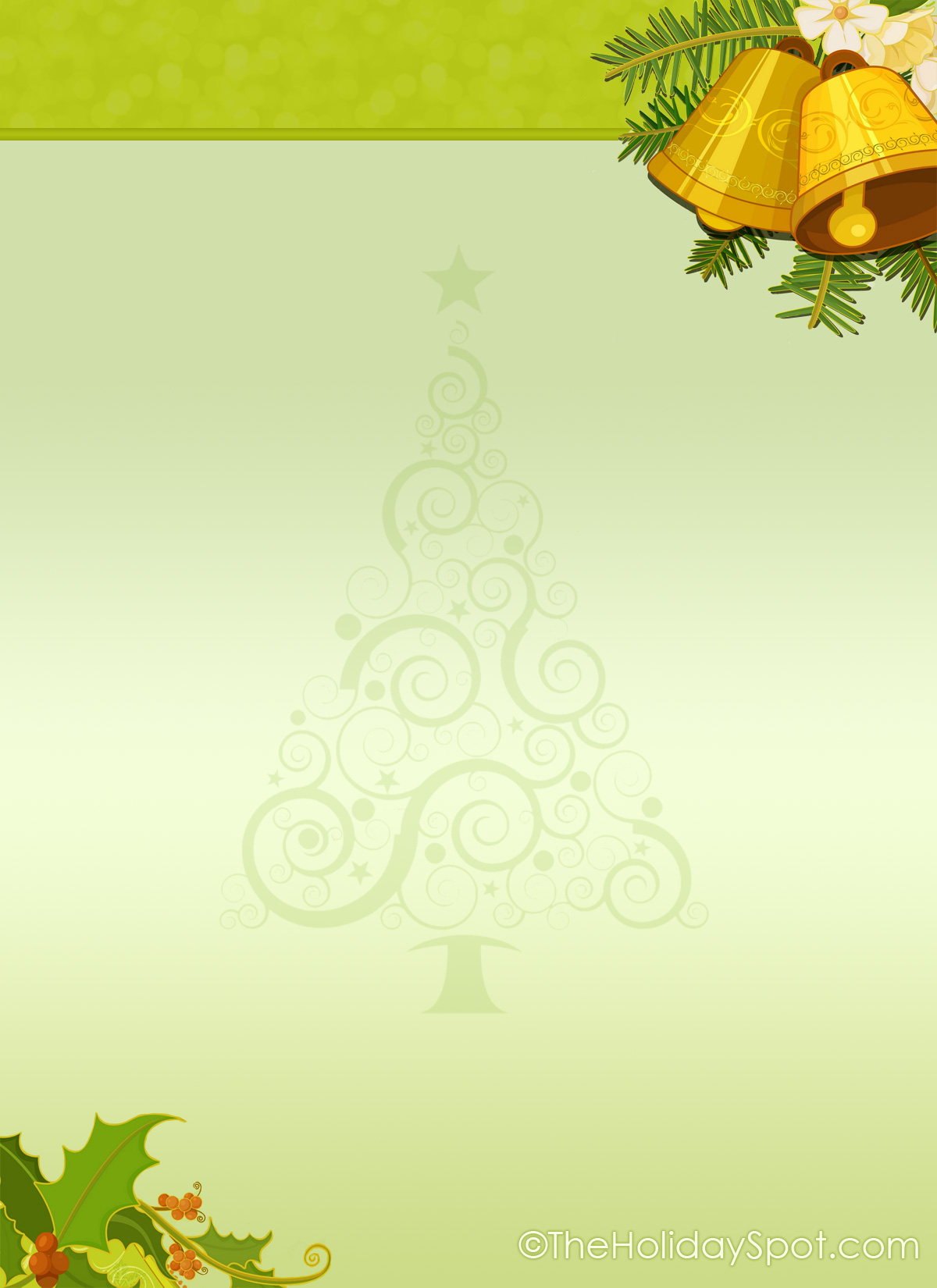 Free Christmas Letterhead Free Stationery For christmas