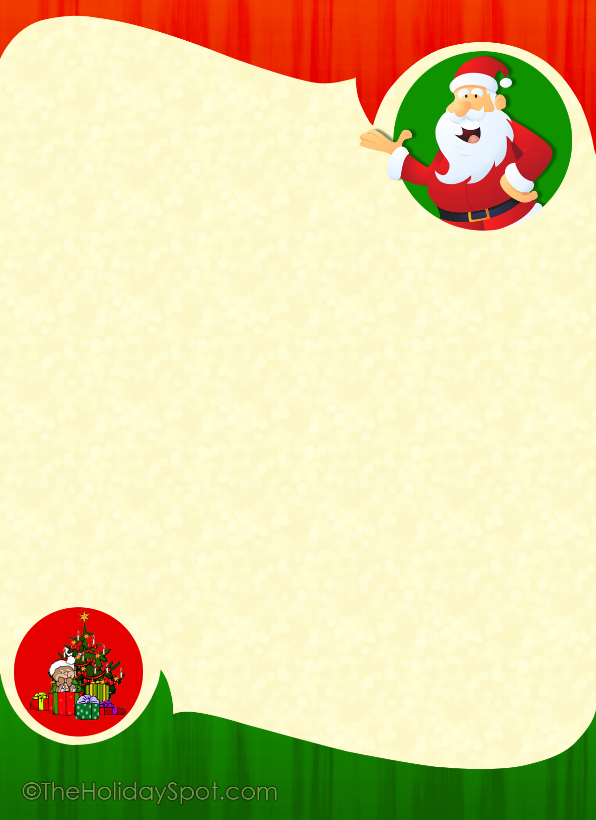 Download  Christmas Letter Templates