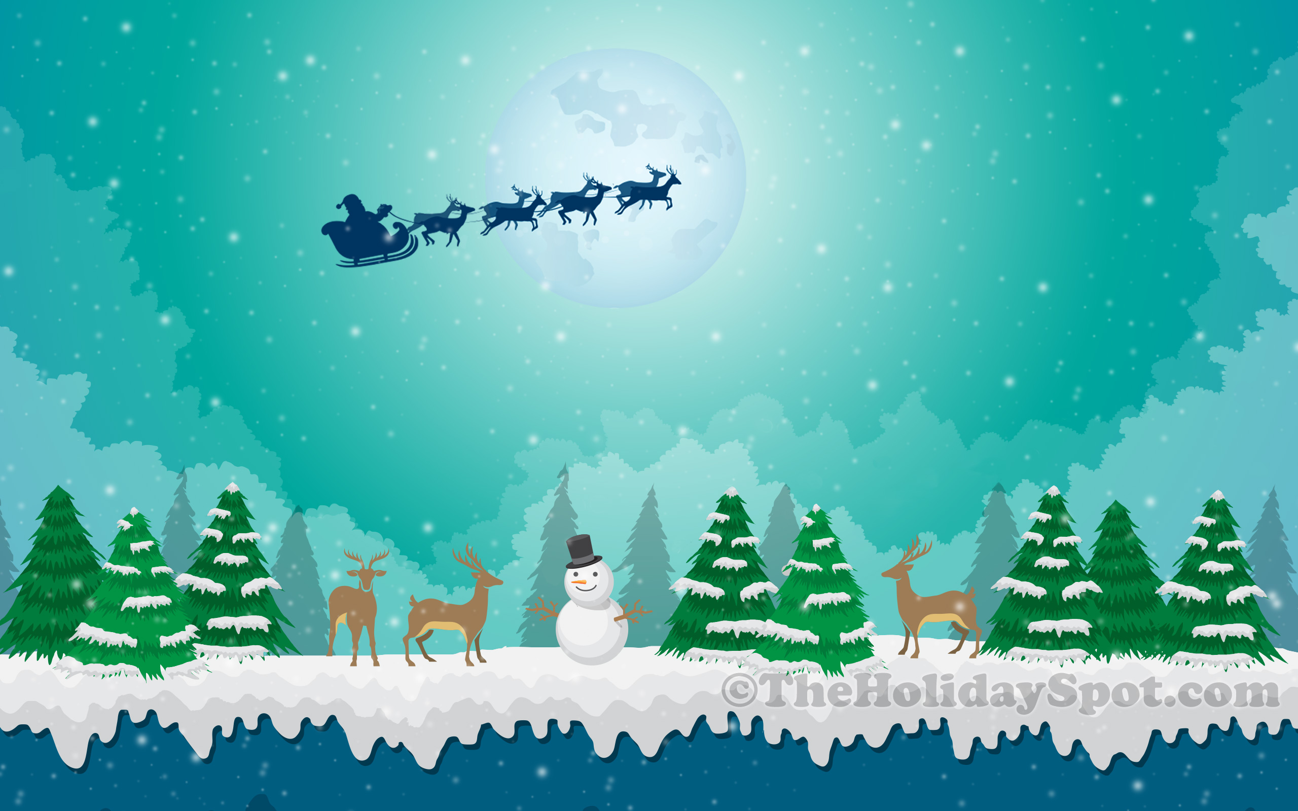 free christmas wallpapers