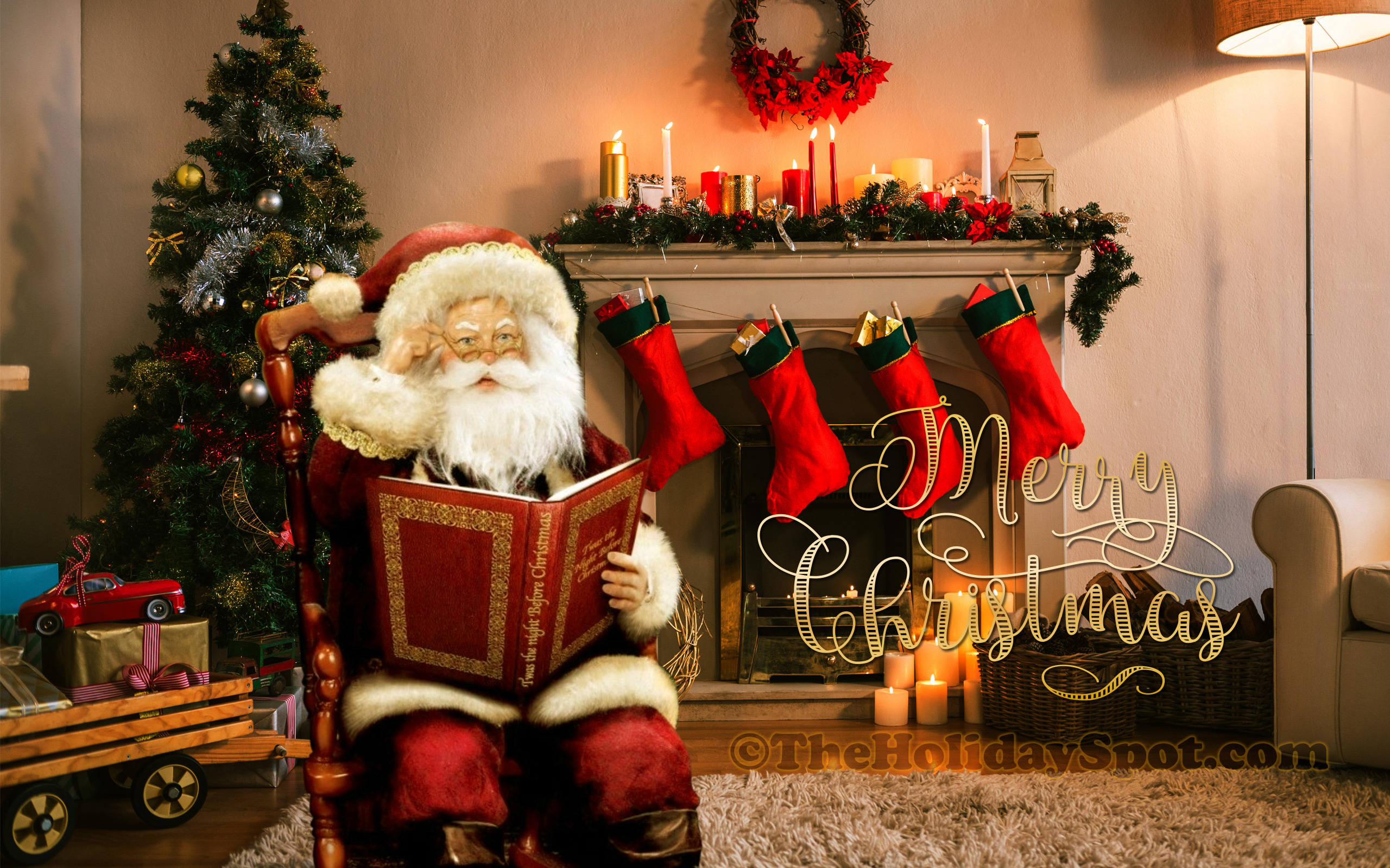 36 HD Christmas Wallpapers