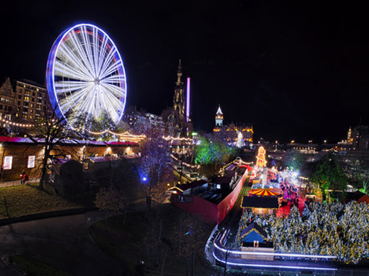 Christmas Celebration In Scotland