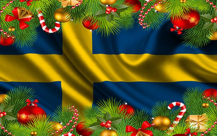 Christmas celebration in sweden