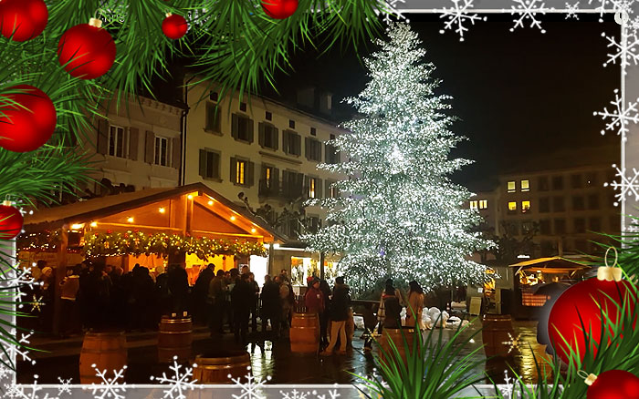Christmas In Switzerland.Christmas In Switzerland