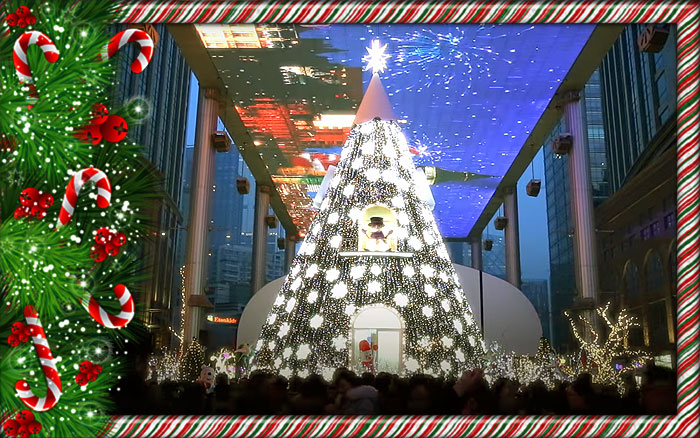 Christmas In China.Christmas In China