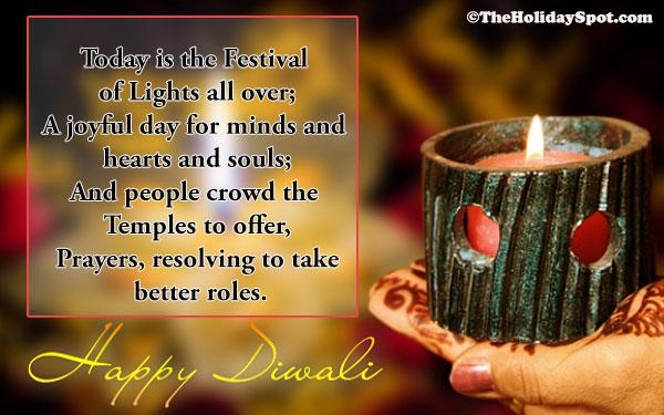 an essay on diwali vacation