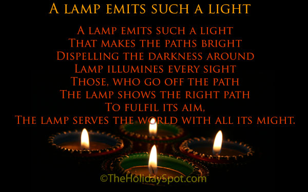 Diwali poems and poetry diwali poem a lamp emits such a light altavistaventures Gallery