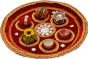 Diwali thali decoration for Aarti thali decoration competition