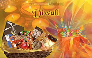 Diwali gifts and fire crackers