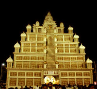 Durga puja pandal routes at kolkata durga puja pandal at central kolkata thecheapjerseys Images