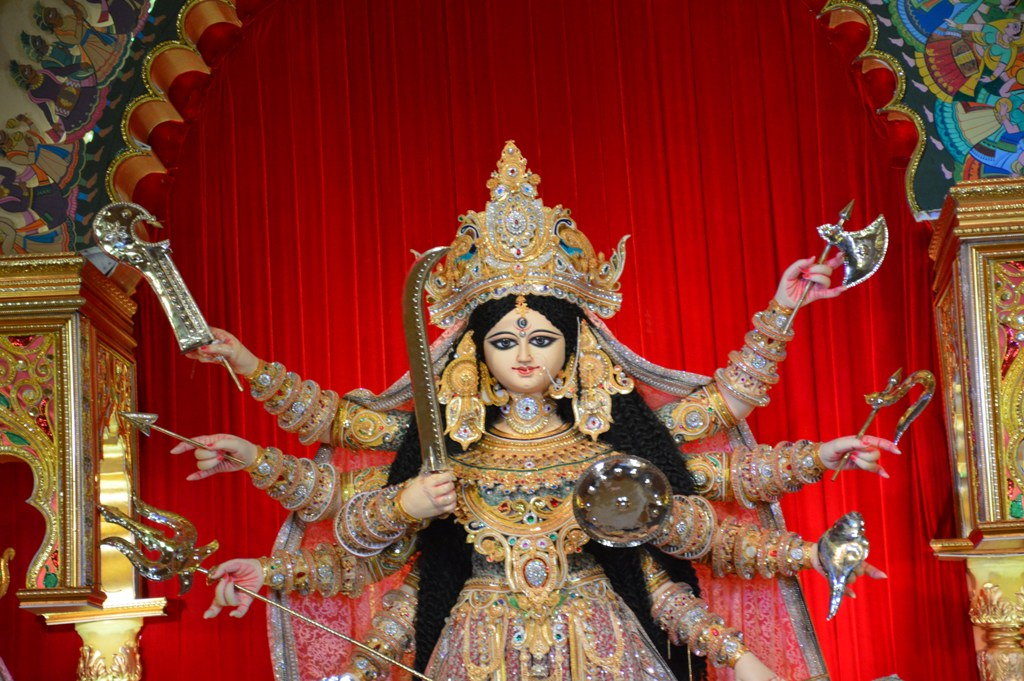 Durga Puja is from Friday 4th October 2019