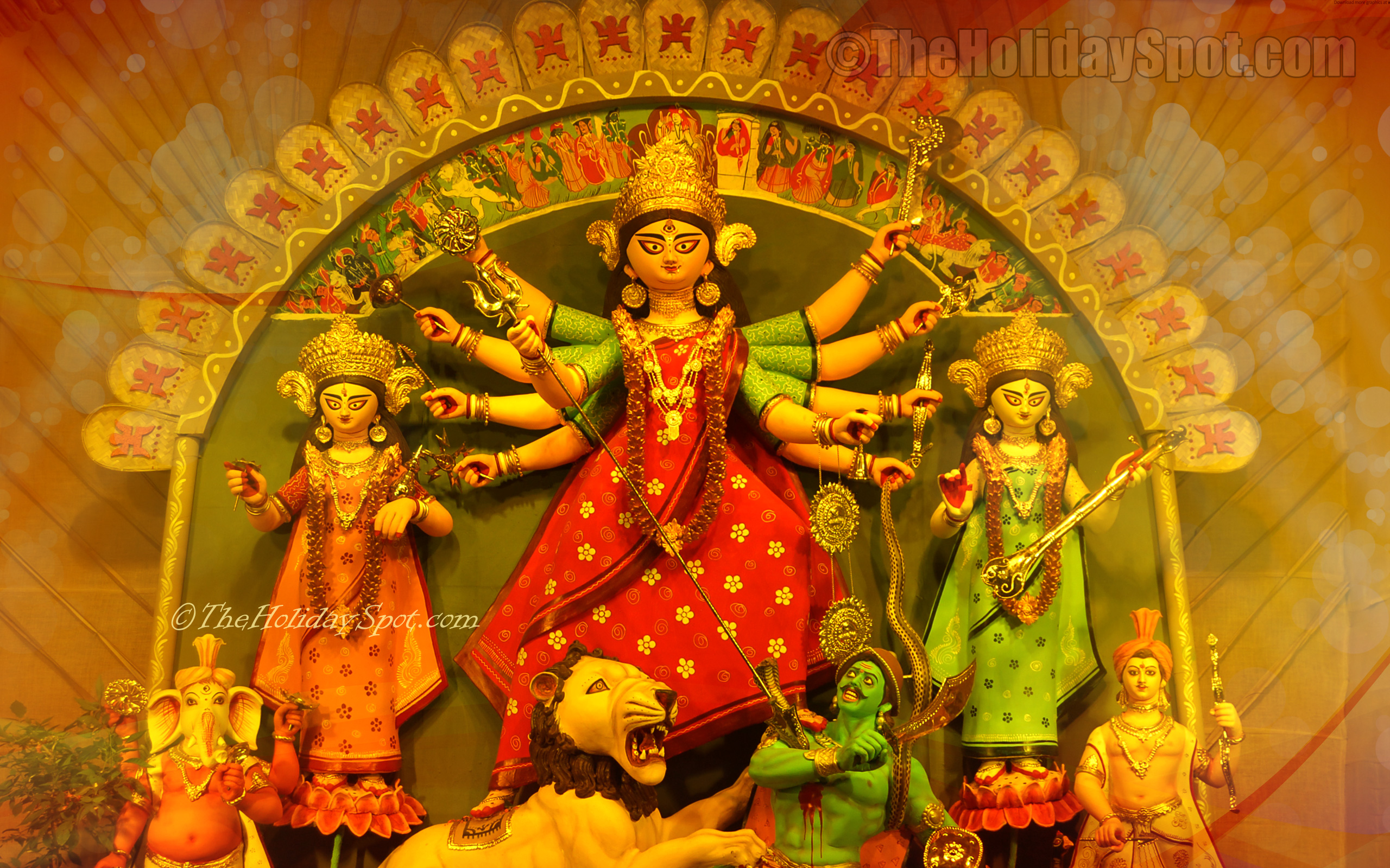 Durga puja wallpapers its free download now durga puja images hd wallpaper of the idol of maa durga altavistaventures Choice Image