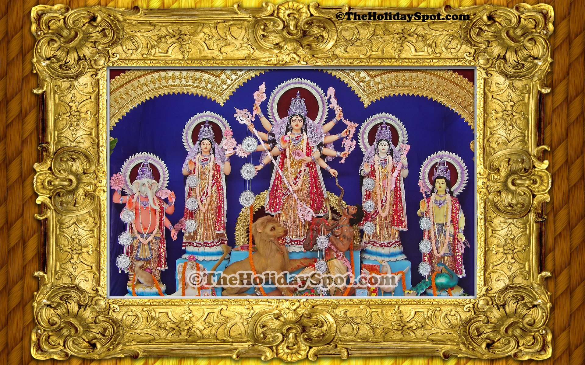 Durga puja wallpapers its free download now durga puja images a wonderful high definition desktop illustration of durga puja altavistaventures Choice Image