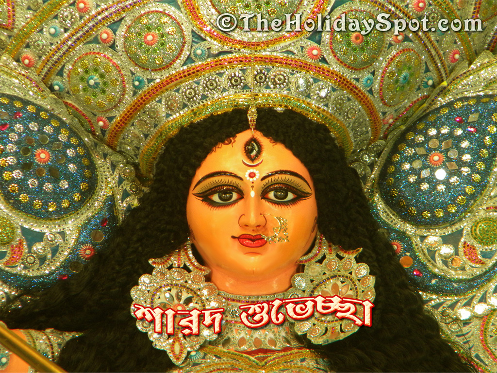 Face Of Maa Durga New