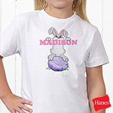 Bunny Love Personalized Kid's Clothes