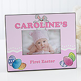 Bunny Love Personalized Easter Picture Frame