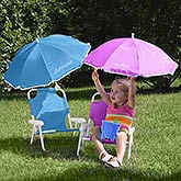 Personalized Kid's Beach Chair & Umbrella Set