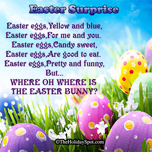 Poem - Easter Surprise