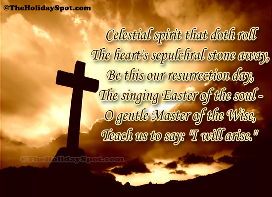 Easter Quotes card of the gentle master of the wise
