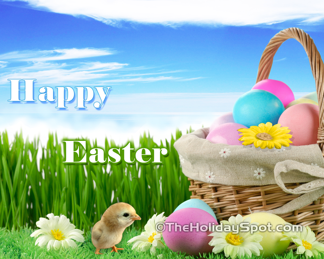 Happy Easter Hd Wallpapers Free Cute Hd Easter Wallpapers